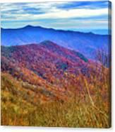 Craggy Ridge Canvas Print