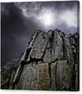 Crags Canvas Print
