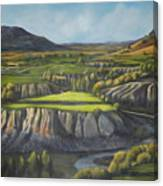 Craig's Course Canvas Print