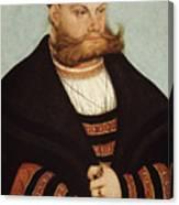 Cranach The Elder Canvas Print
