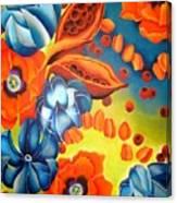 Crape Myrtle Canvas Print