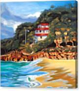 Crash Boat Beach Canvas Print