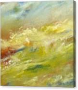 Crash Of Water Canvas Print