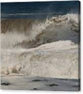 Crashing - Jersey Shore Canvas Print