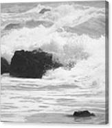 Crashing Waves Canvas Print