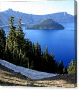 Crater Lake 12 Canvas Print