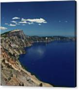 Crater Lake A Caldera Lake  Canvas Print