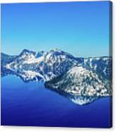 Crater Lake Blue Canvas Print