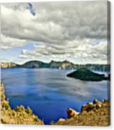 Crater Lake I Canvas Print