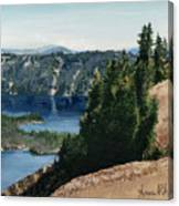 Crater Lake Oregon Canvas Print
