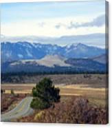 Crater Road California Canvas Print