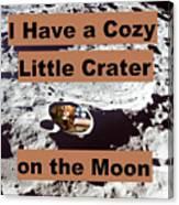 Crater1 Canvas Print