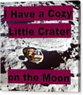 Crater11 Canvas Print