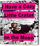 Crater12 Canvas Print