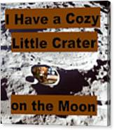 Crater13 Canvas Print