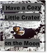 Crater14 Canvas Print
