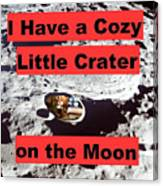 Crater15 Canvas Print