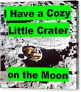 Crater19 Canvas Print