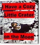 Crater2 Canvas Print