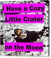 Crater23 Canvas Print