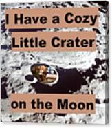 Crater26 Canvas Print