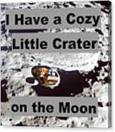 Crater27 Canvas Print