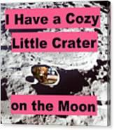 Crater29 Canvas Print