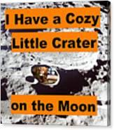 Crater3 Canvas Print