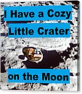 Crater30 Canvas Print
