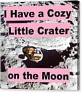 Crater38 Canvas Print