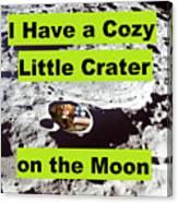 Crater39 Canvas Print