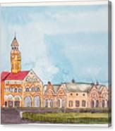Crawford Market Mumbai Canvas Print