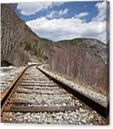 Crawford Notch State Park - Maine Central Railroad Canvas Print