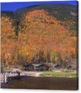 Crawford Notch Willey House Canvas Print