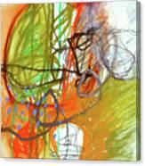 Crayon Scribble#3 Canvas Print