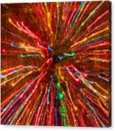 Crazy Fun Colorful Abstract Canvas Print