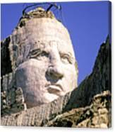 Crazy Horse In Progress II Canvas Print