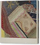 Crazy Quilt (detail) Canvas Print