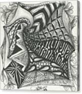 Crazy Spiral Canvas Print