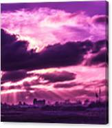 Crazy Sunset  Canvas Print