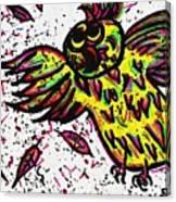 Crazybird Canvas Print