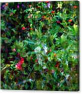 Crazyquilt Garden Canvas Print