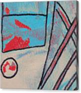 Cream Colored Door Canvas Print