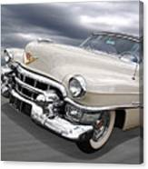 Cream Of The Crop - '53 Cadillac Canvas Print