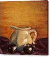 Cream Pitcher Canvas Print