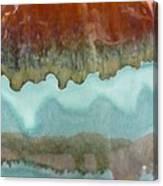 Creamy Layers Canvas Print