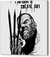 Create Art Canvas Print