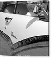Creative Chrome - 1956 Ford Fairlane Victoria Canvas Print