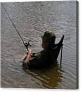 Creative Fishing Canvas Print