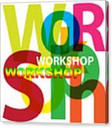 Creative Title - Workshop Canvas Print